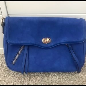 Handbags - Royal blue purse clutch shoulder bag stylish